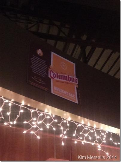 Columbus Brewing Sign